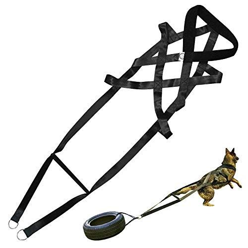 PET ARTIST Arneses de entrenamiento para tirar de peso de perros para trabajo de...