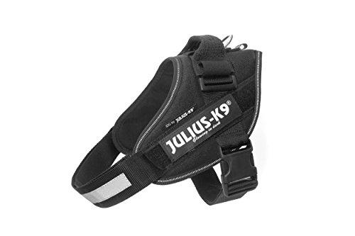 JULIUS-K9 16IDC Arnés de Potencia para Perros, color Negro, Tamaño 0