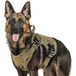 Arnés militar para perros